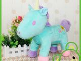 2014马年吉祥物 毛绒玩具 促销礼品 独角马 厂家直销