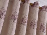 厂家直销欧式窗帘布批发高档亚棉麻提花窗帘布柯桥遮光窗帘布料