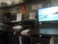 8成新电脑办公桌转让