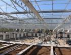 江西抚州育苗玻璃温室大棚 育种温室太阳能发电造热生产厂家