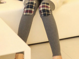 实拍2013秋季新款韩版女装孕妇裤补丁打底裤孕妇装批发妈妈装