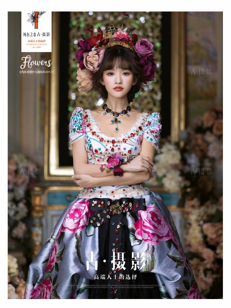 宝鸡婚纱摄影小编分享优雅复古的新娘发型