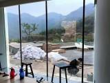 居家窗户玻璃贴膜防晒隔热膜遮阳玻璃贴安装