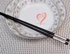 乔森筷子批发 加长银中套 合金筷子 耐高温不发霉