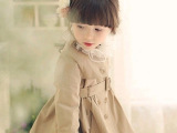 2014童装秋款外套 女童韩版风衣外贸出口品牌中大童长袖外套批发