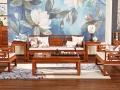 缅甸花梨木沙发椅厂家