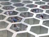 互動大型娛樂闖關蜂巢迷宮美陳暖道具租售可拆裝鍍鋅鋼結構