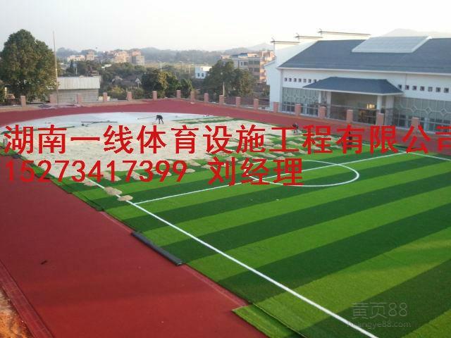 娄底双峰县人造草足球场铺设,在哪里可以买得到湖南一线体育设施