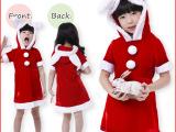 儿童装 童装 圣诞服 圣诞装 小孩舞台表演服 节日演出 角色扮演