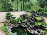 成都农村庭院鱼池设计