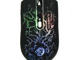 华兰仕 V9 有线鼠标 七色变光 USB接口