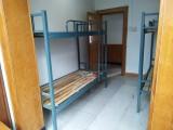 合肥弯曲床头上下铺床价格,锻压铁架高低床批发
