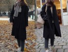 制衣厂最低价秋冬服装批发网上进货最便宜时尚潮款女装外套批发