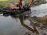 银川贺兰水陆两用挖机租赁电话
