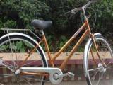 日本进口自行车 普利司通 宫田 27寸内三速 扁头峰 铝合金车架