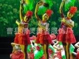 儿童舞蹈演出服装俺们也会跳花鼓灯表演服蓬蓬纱裙定做幼儿演出服