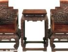 无锡老红木家具收购红酸枝花梨木中堂沙发旧家具收购