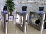 刷身份证进出翼闸,北京人脸识别门禁机,人证合一通道管理系统