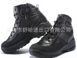 沙漠靴 厚底耐磨美军军靴 作战靴男特种兵透气新款鞋子 男靴底帮