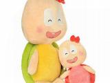 厂家批发可爱笑脸乌龟毛绒公仔 创意卡通亲子玩偶 毛绒玩具礼品