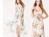 厂家直销2014新款 夏季新款雪纺鱼丝线 开叉 拖地长裙 深V连