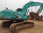 二手神钢200-8挖掘机 工地上干活儿的车/出售