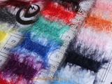 羽毛纱 狗仔毛 羽毛纱线 有色羽毛纱 各式羽毛纱