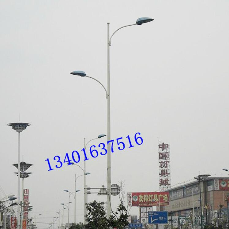 6米双头路灯户外道路照明小区灯250w钠灯1923上海亚明