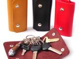 T皮质男女款钥匙包 时尚女包 仿真皮钥匙包 汽车钥匙扣 批发 3