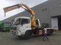 厂家供应带吊清障车,多功能救援拖车