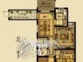 翰林世家2室2厅92㎡ 豪华装修 南北通透 拎包入住 楼层佳