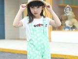 儿童女童背带牛仔裙卡女宝宝韩版童装夏季童裙爆款热销