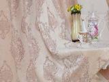 厂家直销 欧式高档雪尼尔提花 遮光窗帘布料 客厅卧室窗帘窗纱