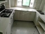 安陆厨柜定做设计 大理石灶台面加工 孝感安陆石材装修师傅