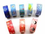 厂家来图定制小清新唯美系列手工DIY装饰手帐胶带