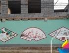 济南墙体彩绘、3D立体彩绘壁画、文化墙幼儿园彩绘