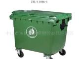 供应环卫环保塑料垃圾桶1100L超高品质