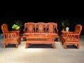 缅甸花梨木红木沙发