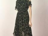 杭州品牌帛兰雅夏装女装折扣尾货批发