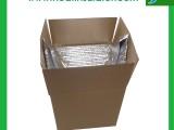 厂家定制生鲜运输保鲜隔热袋 气泡膜防水遮阳铝膜立体保温内衬袋