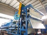 污泥脫水裝置 帶式壓濾機 脫水效率高 碳鋼不銹鋼材質