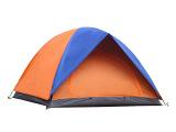 户外帐篷野营露营3-4人双层防风防雨户外