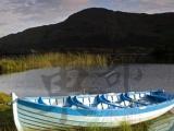 木船经典木质高档装饰船欧式手划船