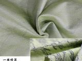 实力厂家直销 50D韩丝麻印花面料 羽绒服面料较新款 100%化