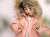 安黎小镇冬装儿童中长款羽绒服 林芊国际品牌折扣童装走份批发