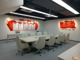 重庆办公室装修-曲艺团会议办公室装修效果图案例
