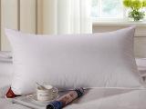 五星级酒店枕芯 柔软羽丝绒枕头 纯棉包 宾馆护颈矮枕心
