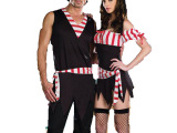 万圣节加勒比海盗男女演出服装表演服派对服