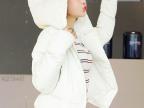 2014韩国代购 女式羽绒棉衣 冬装连帽加厚外套 棉服短款棉袄潮