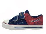 回力儿童帆布鞋 男女童低帮魔术贴休闲帆布鞋运动鞋2912